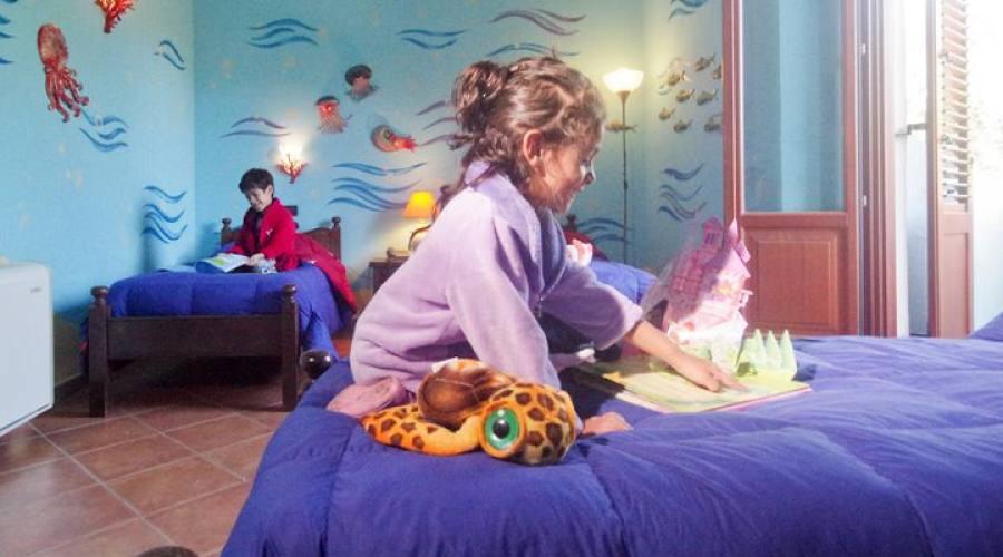 Camera speciale acquario