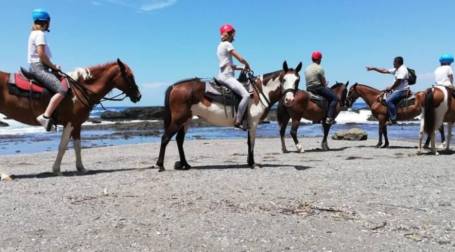 Playa Carrillo: passeggiata a cavallo