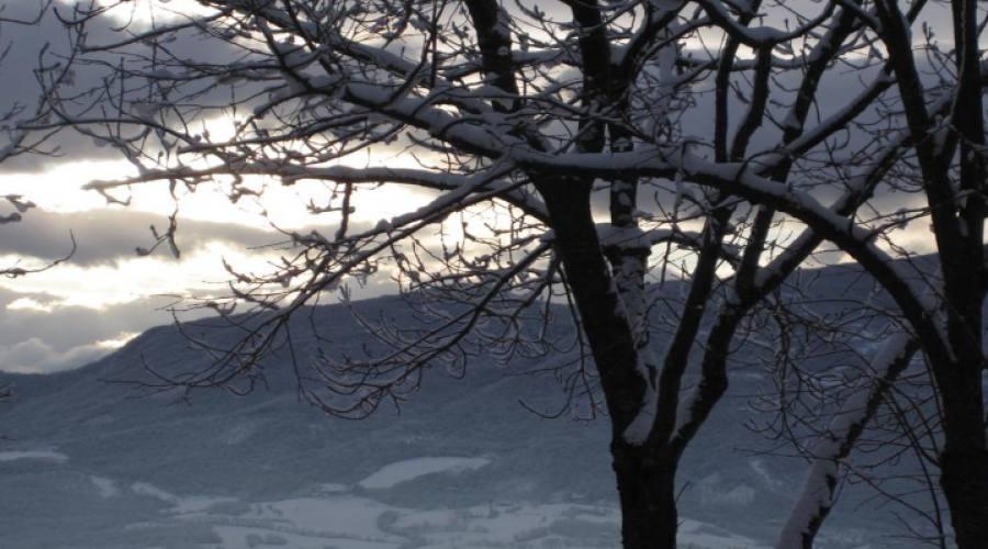 Ambiente invernale esterno