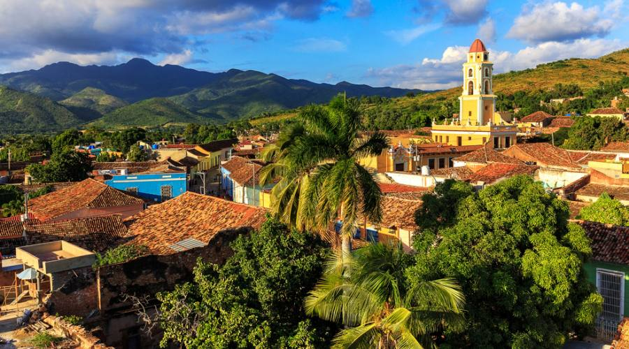 Trinidad - panorama sulla città
