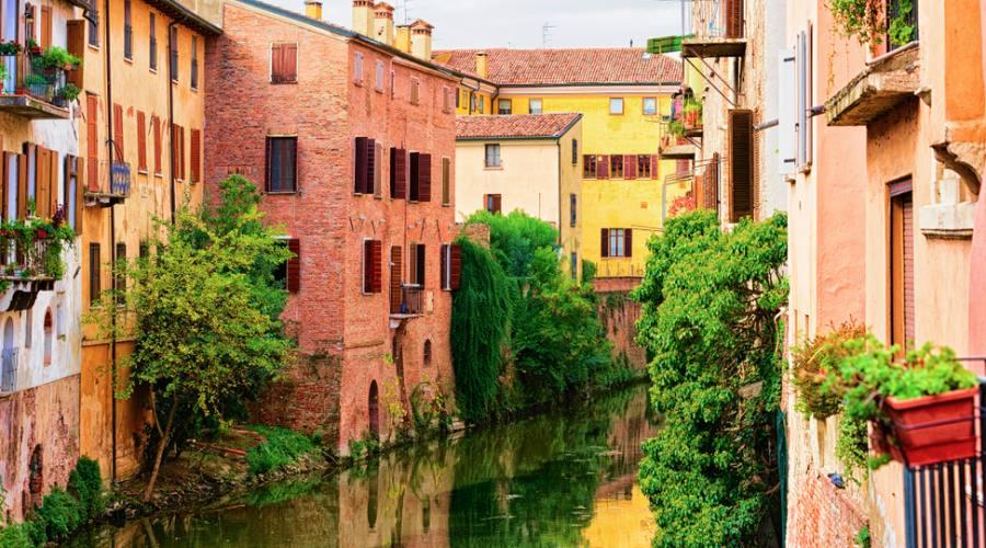 Mantova, canali nella città vecchia