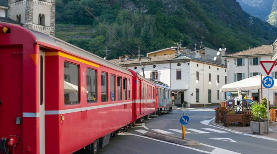 Trenino Rosso del Bernina - Tirano