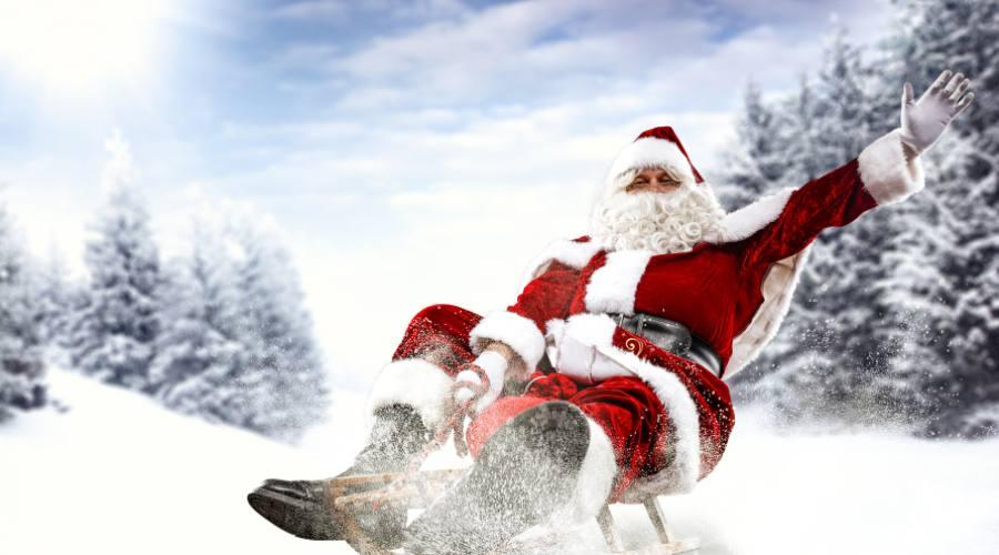 Incontra Babbo Natale in Lapponia