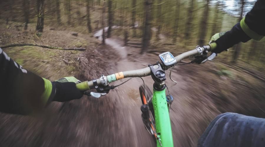 Discesa in bici