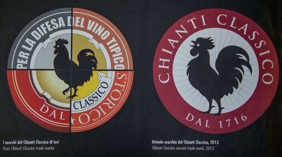i simboli del Chianti Gallo Nero