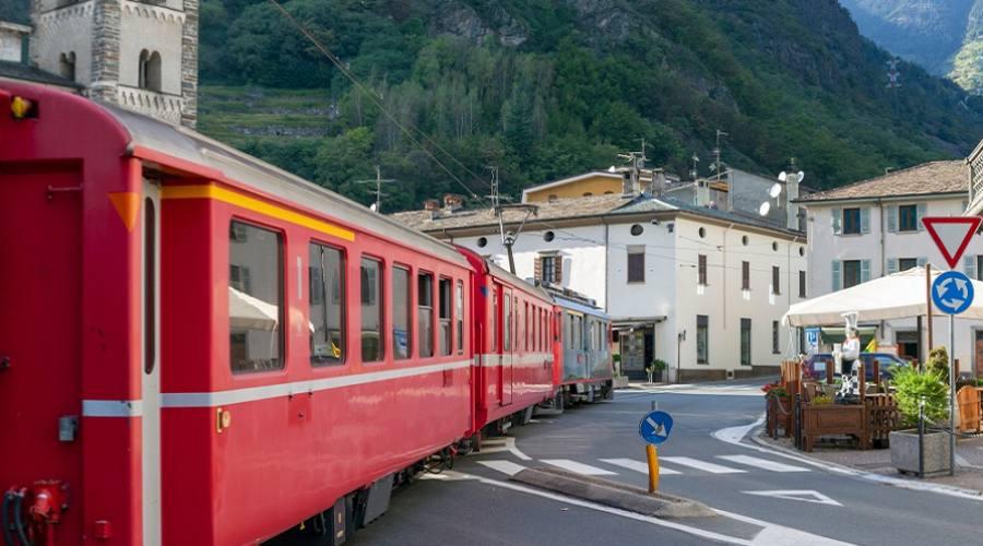 Trenino Rosso a Tirano