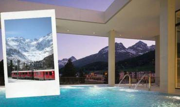 Giornata alla SPA viaggiando con il Trenino Rosso del Bernina