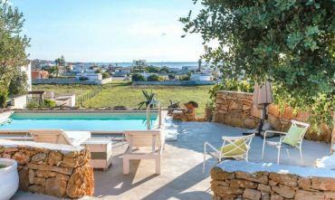 Villa Trullo: 3 Camere, 6 Ospiti, Piscina, Vicino al Mare, Privata Uso Esclusivo