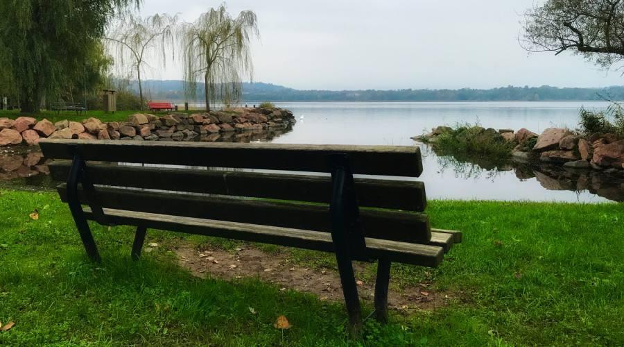 Panchina al Lago di Scanno