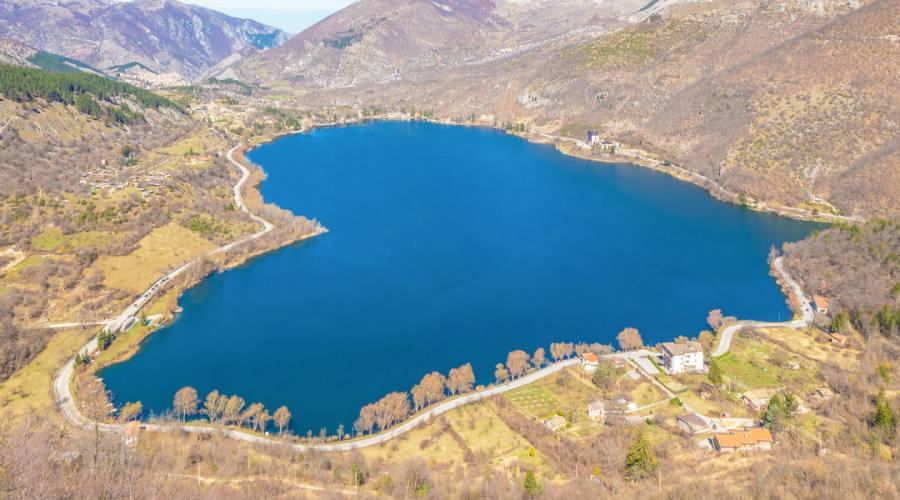 Il lago a forma di cuore
