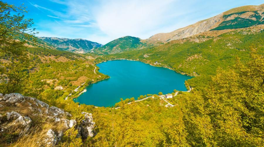 Panoramica sul lago
