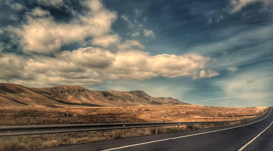 Strade perfette per gli amanti della bici su strada - Fuerteventura