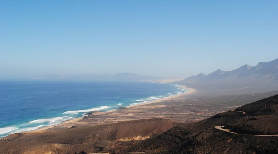 La lunghissima spiaggia di Cofete - Fuerteventura