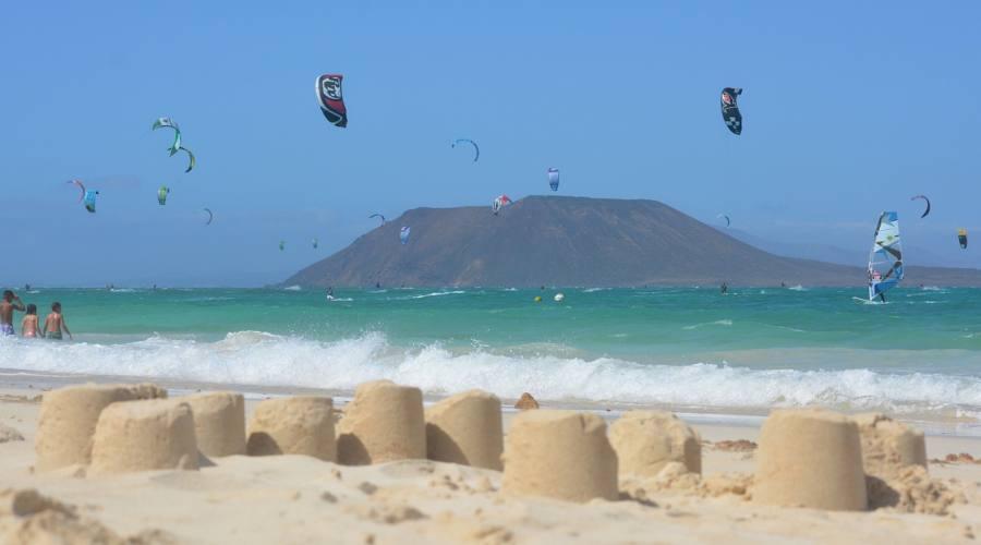 In lontananza Isla de Lobos - Fuerteventura