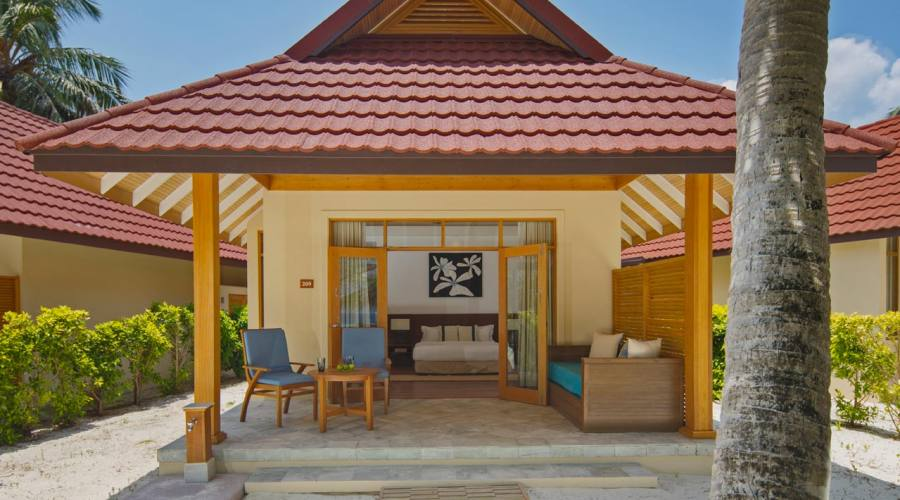 bungalow deluxe fronte spiaggia