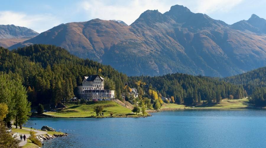 Lago a St. Moritz