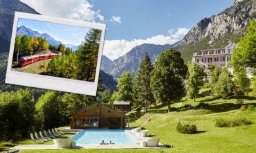 Alla scoperta della Valtellina: le terme e il Trenino Rosso del Bernina