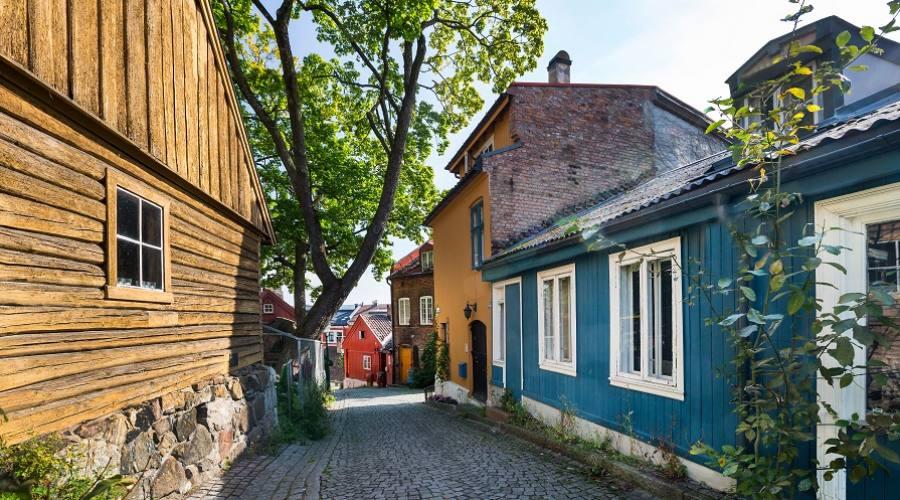 Künstlerviertel Damstredet - Oslo
