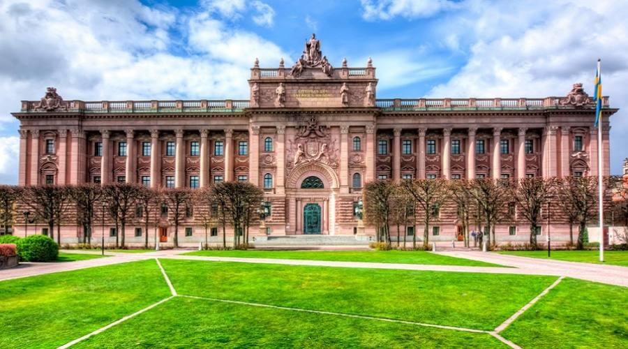 Palazzo del Parlamento - Stoccolma