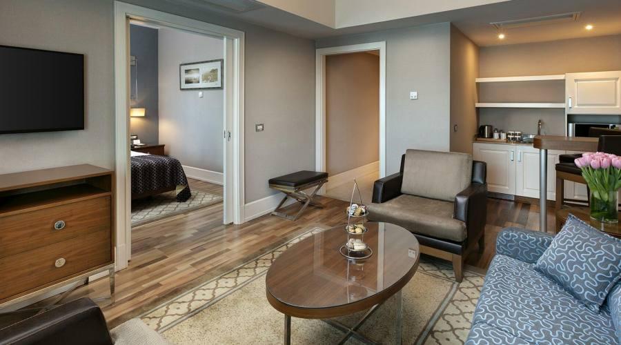 altro ambiente nella camera (hotel titanic)