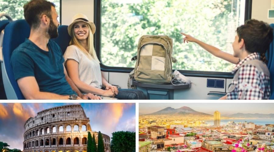 Roma e Napoli in treno