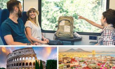 Due città italiane in treno, tra storia, cultura e buon cibo