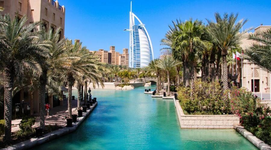 Dubai Burj al Arab da Madinath Jumeirah