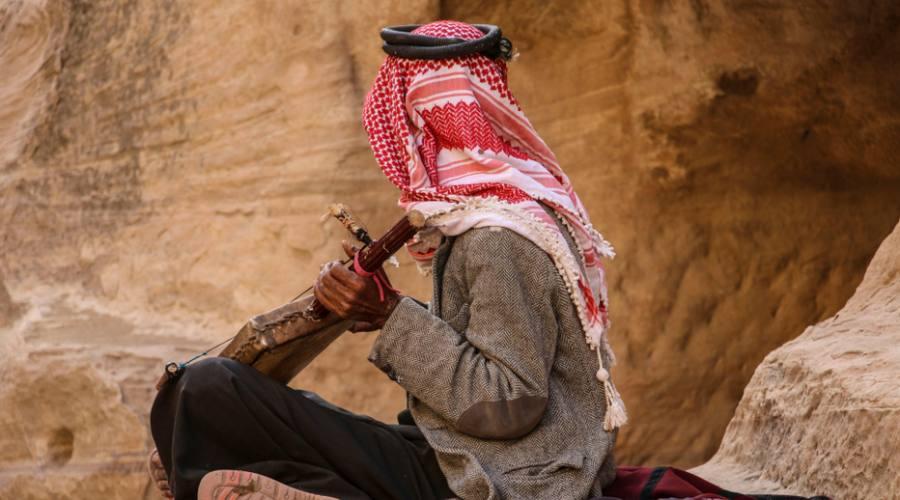 Beduino del Wadi Rum Giordania