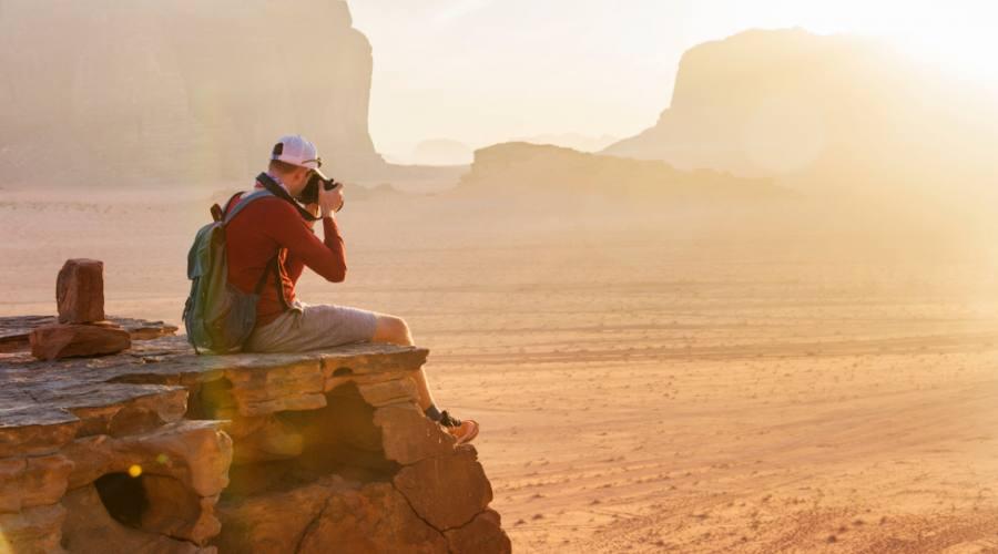 Panorama Wadi Rum Giordania