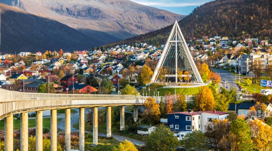 Tromso capitale delle Aurore Boreali
