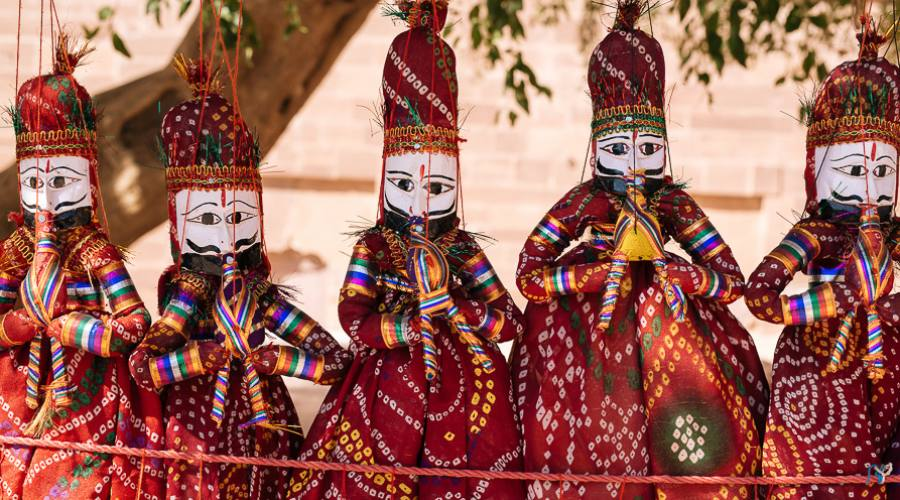 Marionette in Rajasthan