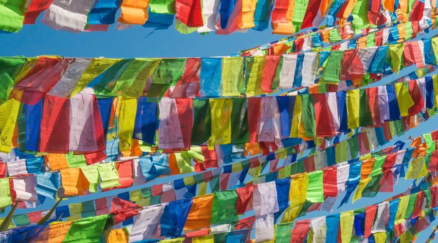Bandiere della preghiera