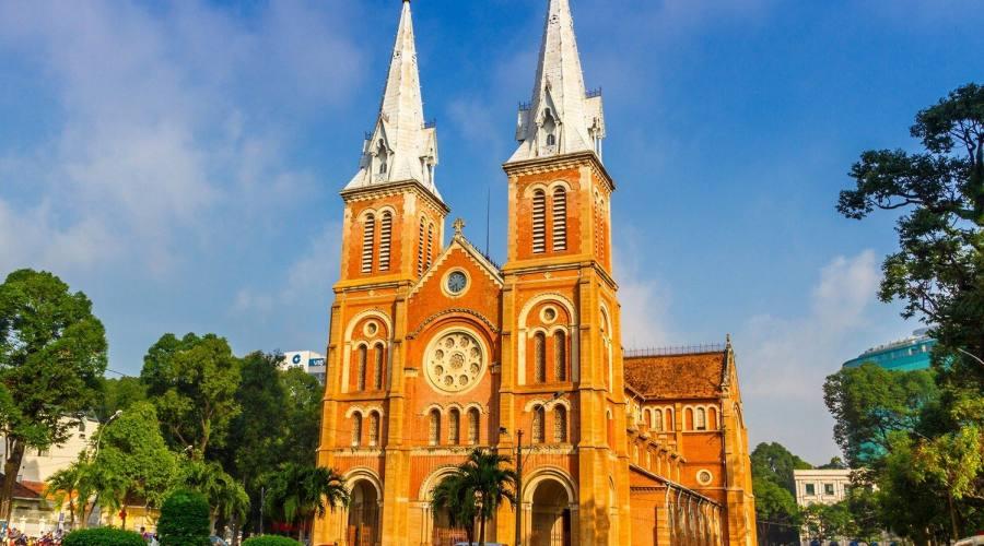 Saigon: Basilica di Notre Dame