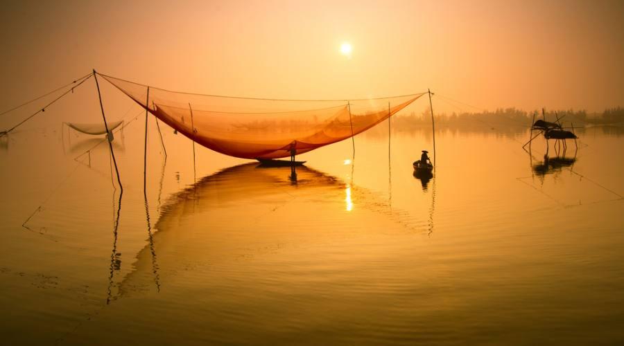 Pesca a Hoian
