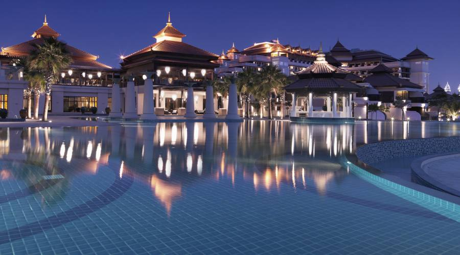 Anantara The Palm Dubai - piscina principale