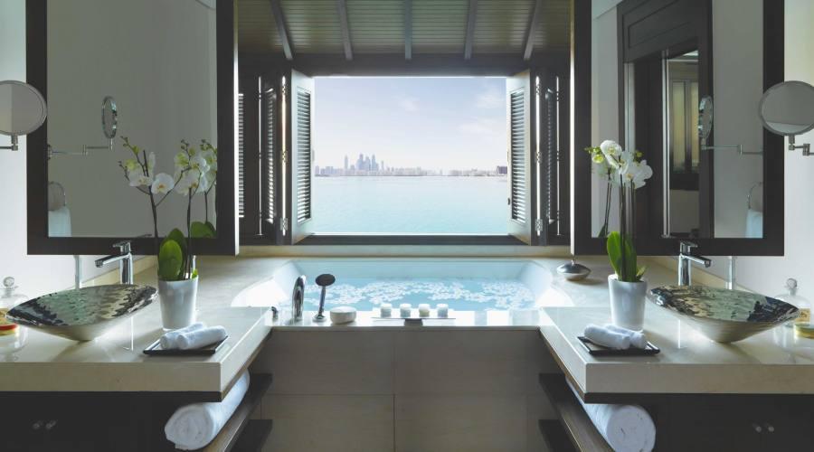 Over Water Villa - bathroom