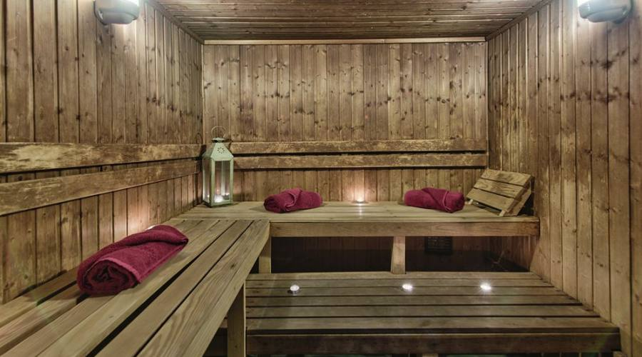 db San Antonio Spa: Sauna