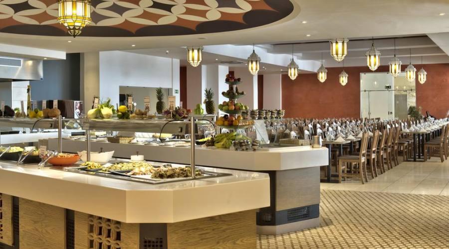 db San Antonio Hotel: Ristorante Buffet Gueliz