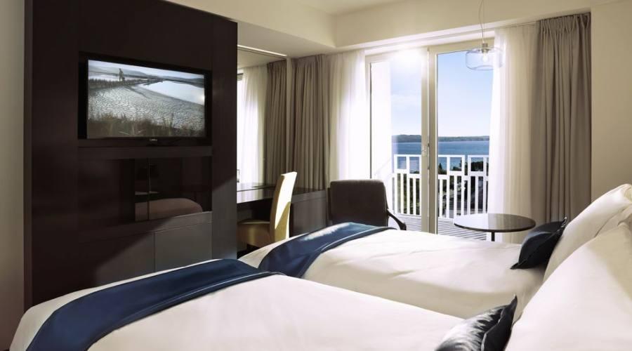 Hotel Slovenija Camera doppia vista mare