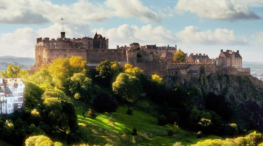 Edimburgo: castello