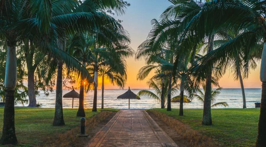 L'alba in spiaggia