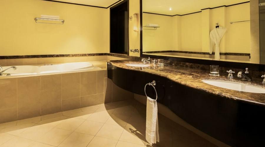 Bagno della suite deluxe