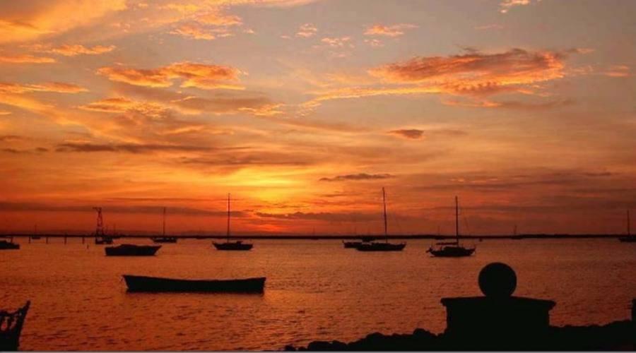 tramonto a La Paz