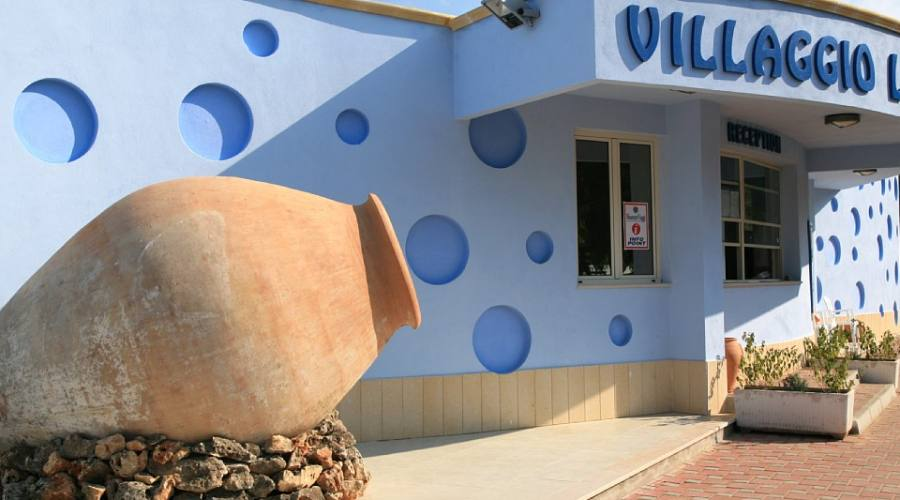 Entrata al Villaggio