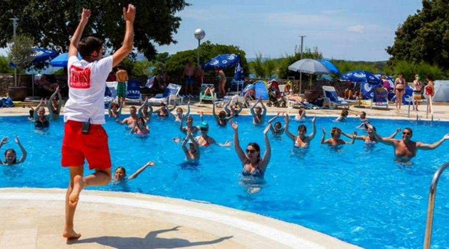 Attività in piscina