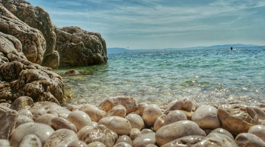 Rabac - una delle spiaggie