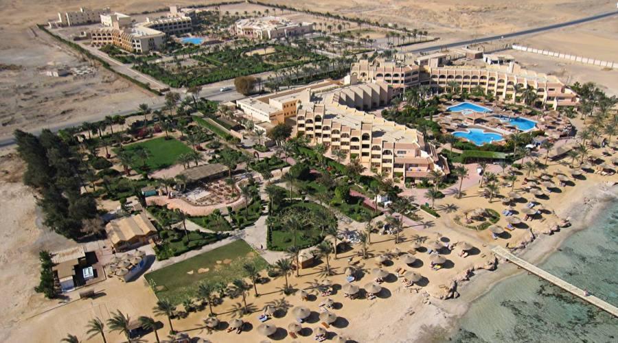Veduta aerea del resort