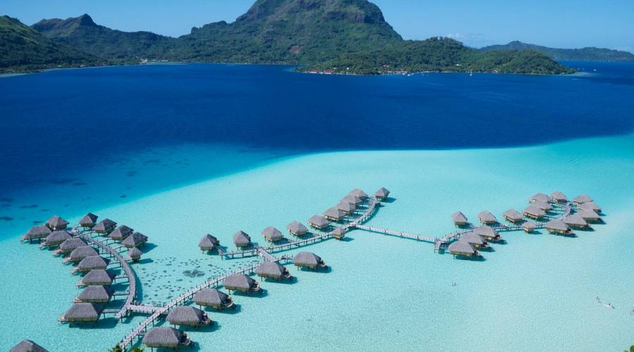 Bora Bora Pearl Beach Resort & Spa, veduta aerea