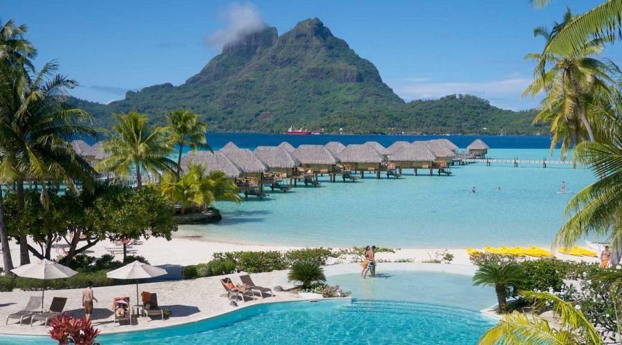 Bora Bora Pearl Beach Resort & Spa, spiaggia