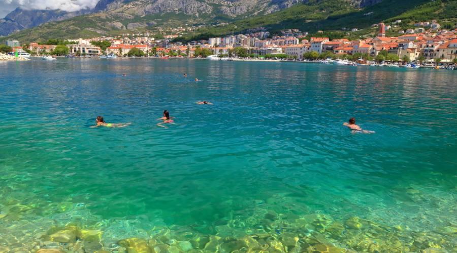 Riviera di Makarska - il mare
